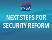 Next Steps for Security Reform