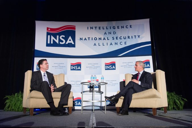 INSA Leadership Dinner with FBI Director James Comey Podcast