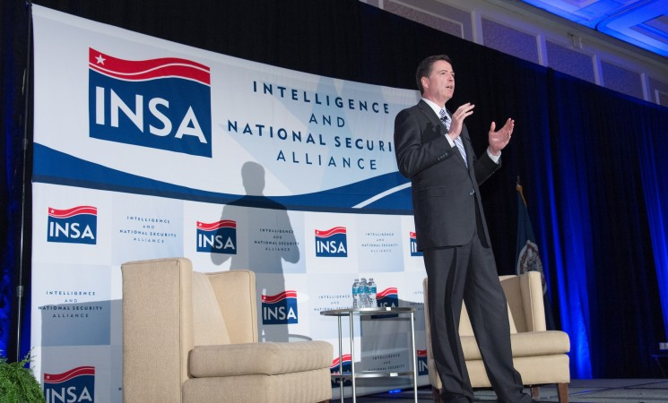 "FBI Director Comey: ""Mission is to get out and talk to the private sector"""