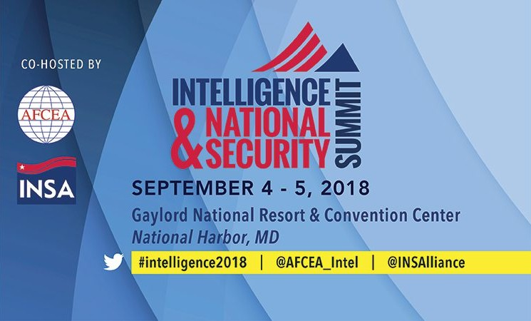 2018 Intelligence & National Security Summit - Registration Open!