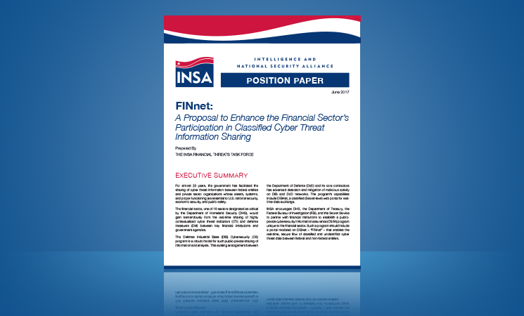 FINnet: Classified Information Sharing for the Financial Sector