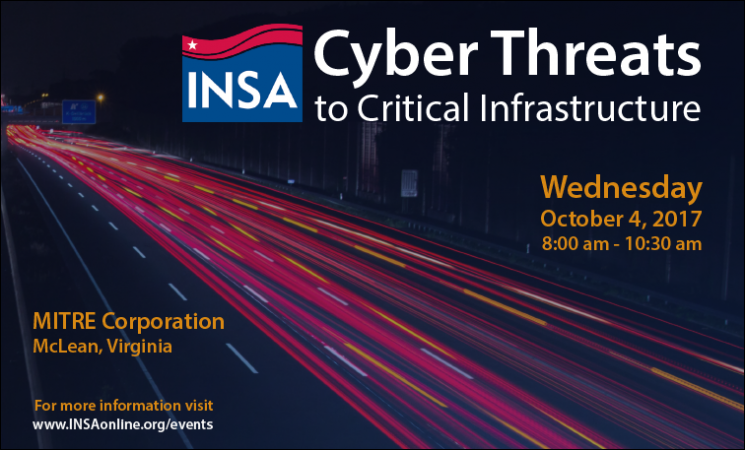 Cyber Threats to Critical Infrastructure: INSA Panel Discussion