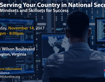 Serving Your Country in National Security: Mindsets and Skillsets for Success
