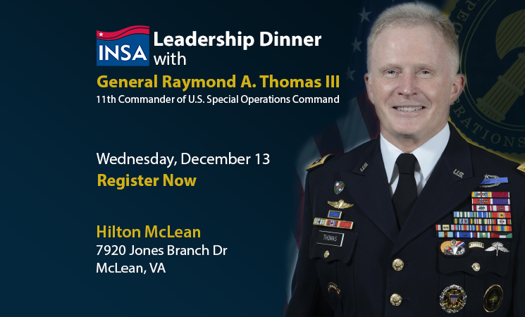 INSA Leadership Dinner December 13