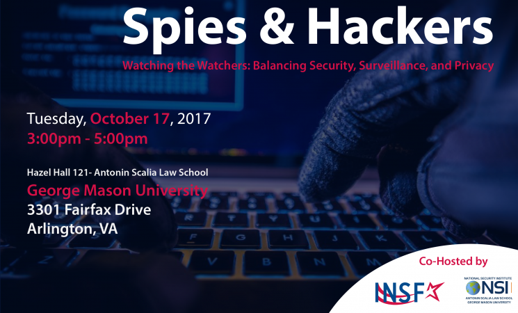INSF-NSI Event: Spies & Hackers