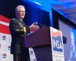 General Thomas Discusses Global Threats at INSA Leadership Dinner