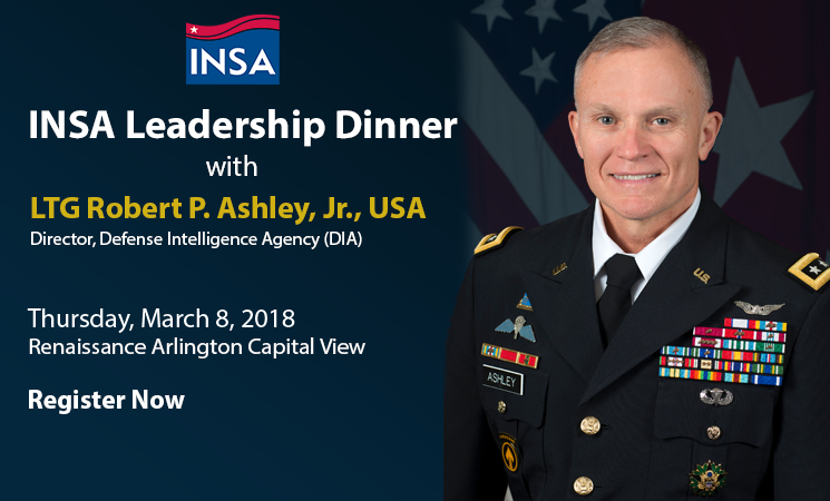 Leadership Dinner with LTG Robert Ashley, U.S. Army