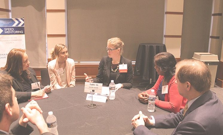 Speed Mentoring Event With Keynote by Harry Coker, NSA Executive Director