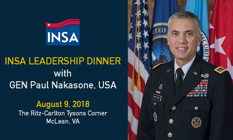 NSA Director to Speak at Upcoming Leadership Dinner