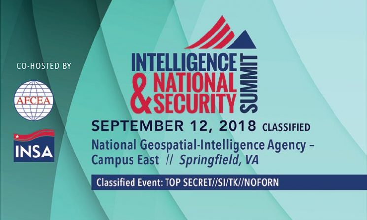 Join INSA for the 2018 Classified Summit Day at NGA Campus East
