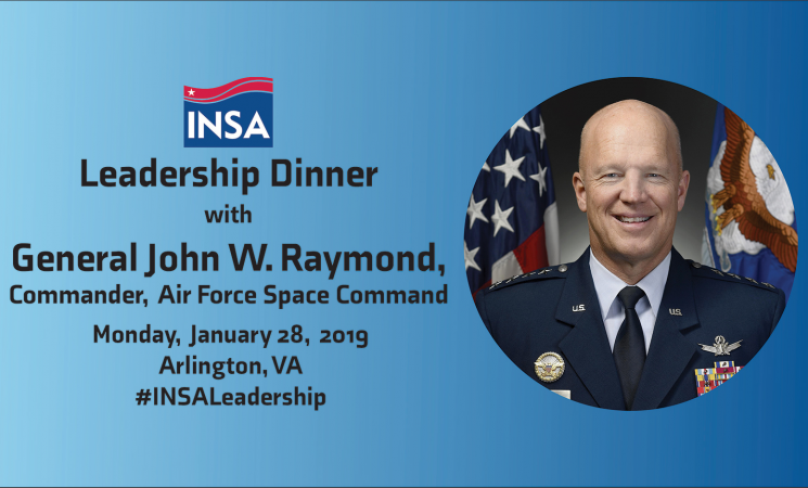 Leadership Dinner with General John W. Raymond, Commander, AFSPC