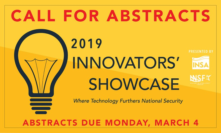 2019 Innovators' Showcase: Call for Abstracts Now Open