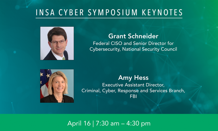April 16 Cyber Symposium Jam-Packed with Government and Industry Leaders