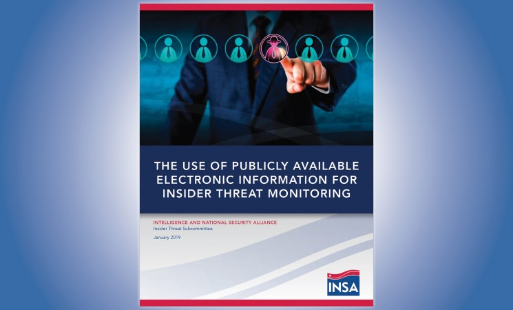 INSA Report Provides Insight on Publicly Available Electronic Information for Continuous Evaluation