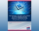 Race to 5G Puts U.S. Economic and National Security at Risk, According to New INSA White Paper