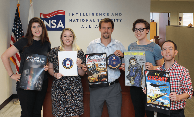 INSA Interns Learn What It's like to Work for the CIA