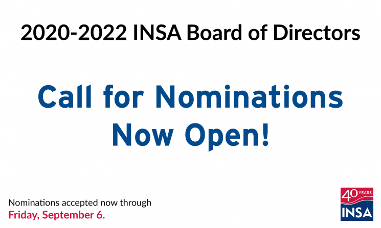 2020-2022 INSA Board of Directors Call for Nominations