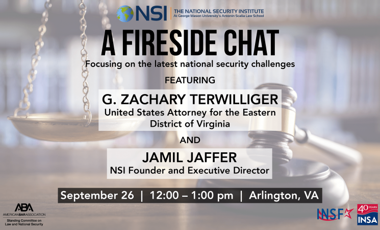Nsi Fireside Chat With G Zachary Terwilliger Insa