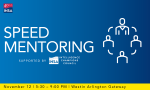 Registration Now Open for 7th Annual Speed Mentoring Event
