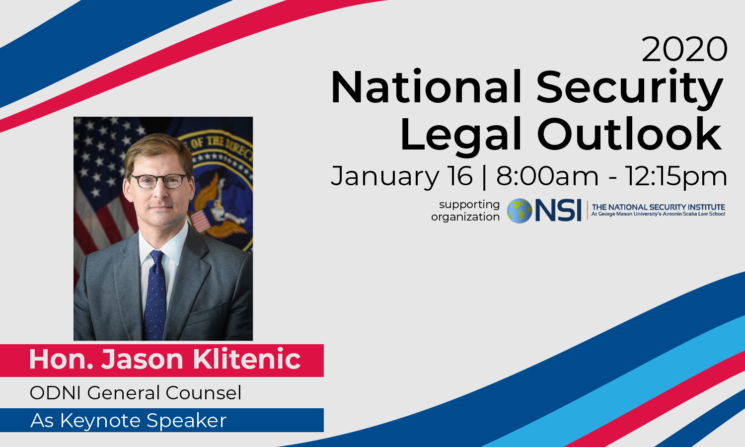 Event Recap: 2020 National Security Legal Outlook