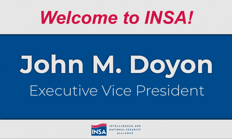 John Doyon Joins INSA as Executive Vice President