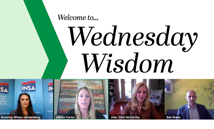 Program Recap: Wednesday Wisdom Series Debut!