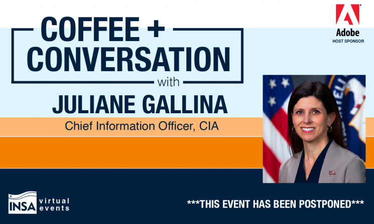 POSTPONED: Coffee & Conversation with Juliane Gallina