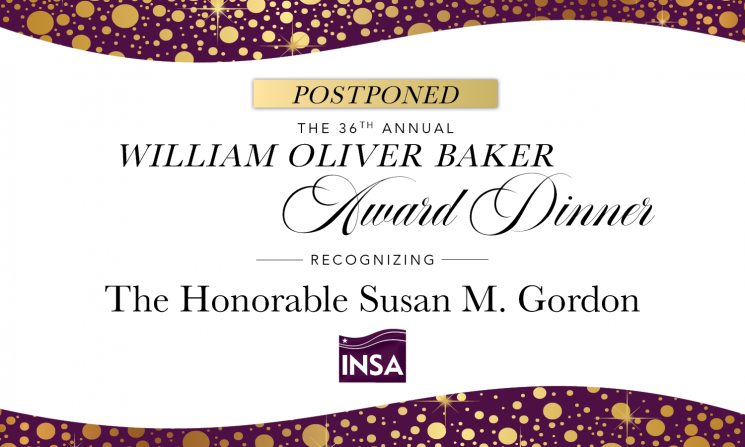 Update: 2020 William Oliver Baker Award Dinner