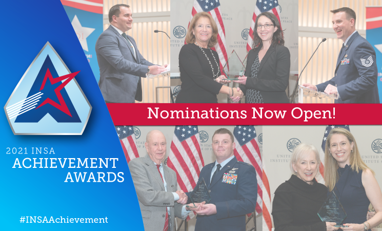 Now Open: Nominations for 2021 INSA Achievement Awards