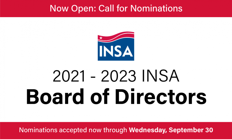 2021-2023 INSA Board of Directors Call for Nominations