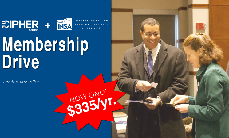 The Cipher Brief and INSA Membership Drive