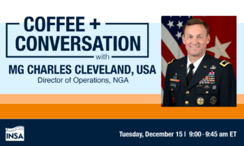 Coffee & Conversation with MG Charles Cleveland, USA