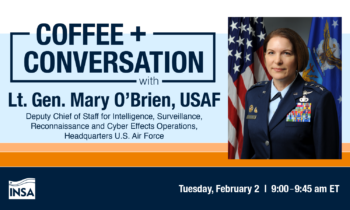 Coffee & Conversation with Lt. Gen. Mary O'Brien, USAF