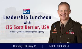 Leadership Luncheon with LTG Scott Berrier, USA
