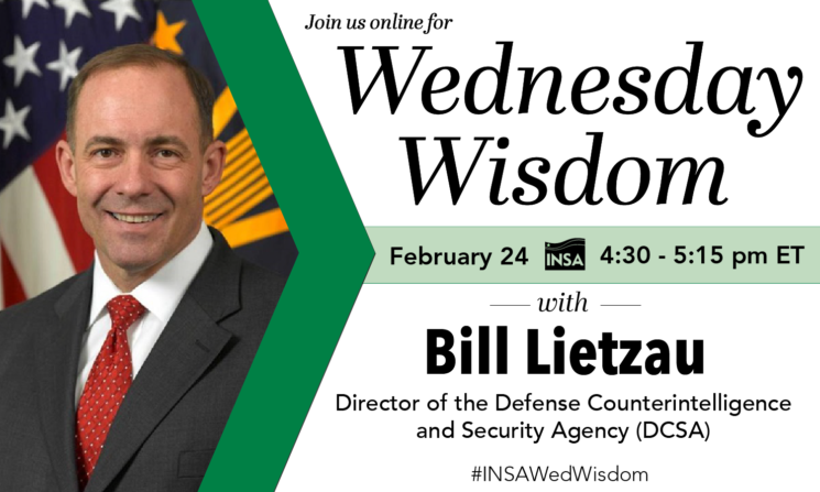 Wednesday Wisdom with Bill Lietzau