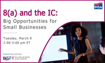 8(a) and the IC: Big Opportunities for Small Businesses