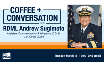 Coffee & Conversation with Rear Admiral Andrew Sugimoto