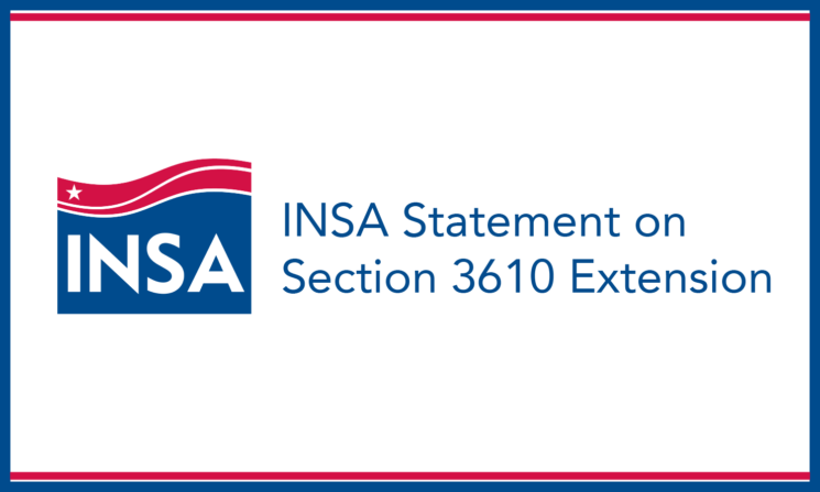 INSA Statement on Extension of Section 3610