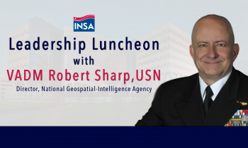 Postponed: Leadership Luncheon with VADM Robert Sharp