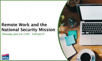 Remote Work and the National Security Mission