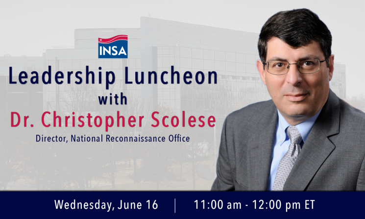 Leadership Luncheon with Dr. Christopher Scolese