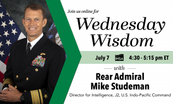 Wednesday Wisdom with Rear Admiral Mike Studeman